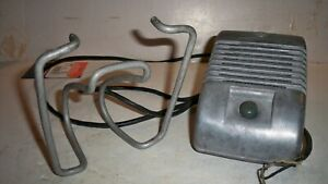 Vintage Drive in Movie Theater Speaker RCA  w/holder old