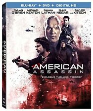 American Assassin (Blu-ray + DVD + Digital HD)(slipcase) NEW SEALED