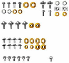 Cycra Body Plastic Fastener Kit For 2012-2014 Yamaha WR450F WR 450F Gold Pieces