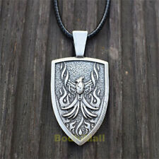 Celtic Fire Phoenix Norse Rebirth Fire-bird Pendant Necklace