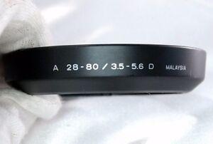 Minolta A 28-80mm 3.5-5.6 D Lens Hood AF maxxum auto focus Used Genuine EOM