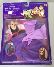 1992#Classic EVIL QUEEN Costume & Mask set for doll Barbie Disney Snow White