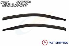 CHEVROLET AVEO Saloon 4-doors 2006-2011 2-pc wind deflectors HEKO Tinted