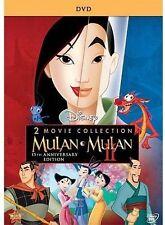 Mulan / Mulan II - 2 Pack (DVD 2 Movie Set) Mulan 1 & 2 New & Sealed Free Ship