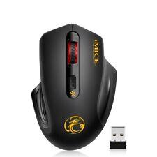 Wireless Mouse 2.4G Wifi Dongle Optical Ergonomic Noiseless Computer Laptop Mice