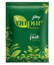 Godrej Nupur Herbal Henna for Hair Dye & Hair Care Natural Mehendi (5 x 120 grm)