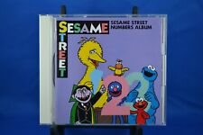 Sesame Street Numbers Album CD  1999 Sony Japan Pressing HTF OOP