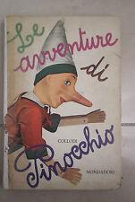 LE AVVENTURE DI PINOCCHIO ILL. ACCORNERO MONDADORI 1960