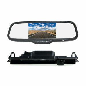 Rear View Reverse Backup Camera Kit for Toyota Yaris Vitz Porte XP90 XP130