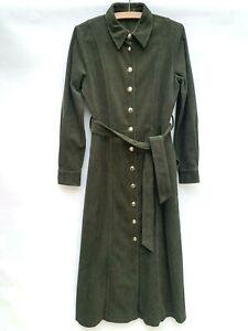 Zara Corduroy Shirt Dress Size Medium