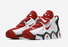 NIKE AIR BARRAGE MID SHOE [MEN'S SIZE 11] WHITE/UNIVERSITY RED/BLACK AT7847-102