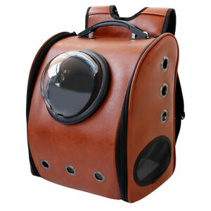 NEW Waterproof Dog Carrier Backpack Pet Cat Travel Shoulder Space Capsule Bag