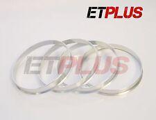 4 X Anillos Espita De Aluminio Vivaro 74.1 - 71.1 ruedas aleaciones de Ajuste BMW E70 E71 Hub