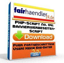 PHP-SCRIPT No. 04 Bannerwerbeseitenscript Webmaster Banner Werbeseiten Software