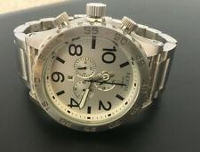 Nixon Men's Silver 51-30 Chronograph Watch