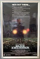 "Rare ROLLED! Original BLUE THUNDER 1983 Original Movie Poster 27x41"" Vintage"