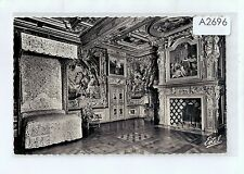 A2696pac France Le Chateau Cheverney Kings Bedroom vintage postcard