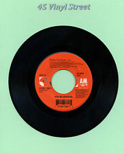 """GIN BLOSSOMS 45 FOLLOW YOU DOWN / TIL I HEAR IT FROM YOU A&M 1996 7"""" ROCK"""