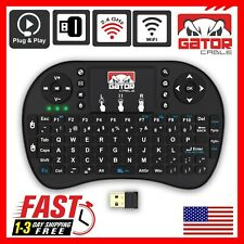 Mini Wireless Keyboard Remote Control Touchpad 2.4GHz Smart TV Android TV Box PC