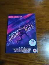 John Wick Chapters 1-3 Trilogy 3-Film Collection [DVD] Uk Region 2 Free Shipping