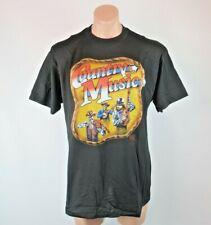 New listing Vtg 1990 3D Emblem Just Brass Country Music T-shirt Xl New America Patriot 90s