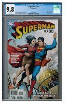 Superman #700 (2010) Gary Frank Cover Anniversary Issue CGC 9.8 EB102