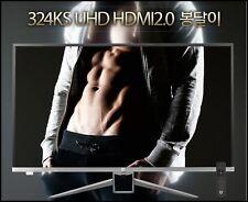 "Crossover 324KS UHD 4K HDMI 2.0 LED 3840X2160 60Hz 32"" Monitor+Remote"