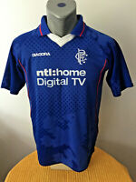 GLASGOW RANGERS Soccer Jersey 2002/03 Camiseta Football Shirt Trikot Maillot SPL