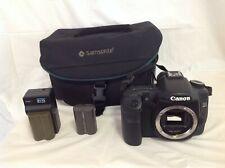 Canon EOS 40D 10.1MP Digital SLR Camera Body Bundle w/ Bag, Charger & Batteries
