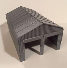 DAPR -N Gauge Model Railway Scenery Building Kit-Diesel Engine/Loco Shed-2 Track