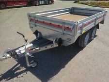 PKW-Anhänger Hochlader 254x153x30cm 2000kg Transporter 2515C ALU- Bordwände TOP!