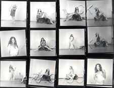 Yolanda As Nude Indian Squaw HENDRICKSON Negative Photograph Contact Sheet D970