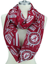 Official University of Alabama Collegiate Infinity Scarf