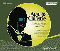 Agatha Christie - Hercule Poirot ermittelt 15 CD 5 Krimi Hörbuch CDs NEU TOP!
