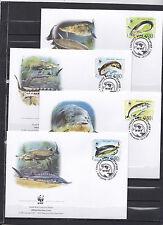 Bulgaria 2004 - FDC - Vissen/Fish/Fische -> WWF