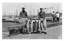 RPPC Salmon Limit Fishermen WESTPORT, WA Fishing Ellis Photo Vintage Postcard