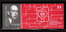(2014). Centennial of Blood Transfusion. MNH.Excellent condition.