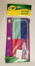 Crayola Packer Pouch 3 Hole Zippered Pencil Pouch - BACK TO SCHOOL!
