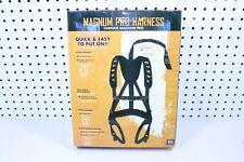 Muddy Outdoors Magnum Pro Adjustable Treestand Harness System, Black Mud-Msh110