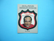 1973/74 O-PEE-CHEE PLAYER CREST LOGO NHL HOCKEY CARD #11 JACQUES LAPERRIERE OPC
