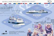 Finland 2014 MNH Sheet - Ships - Nordic Maritime - GTS Finnjet - Passenger Ship