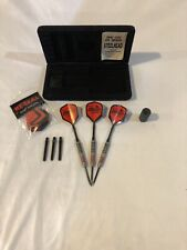 American Dart Line Steel Tip Tungsten Dart Set with Box and Extras