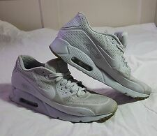Nike Air Max 90 Ultra Moire Platinum/White 819477 005 Size 10.5