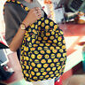 Womens Canvas Shoulder School Bag Travel Work Backpack Satchel Rucksack Handbag