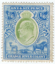 (I.B) Orange River Colony Revenue : Duty Stamp 1/6d
