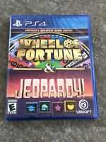 Greatest Game Shows Wheel of Fortune Jeopardy! Playstation 4 PS4 Brand New!