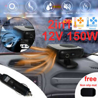 Vehicle Heater Heating Fan 12V 150W Dryer Windshield Demister Defroster For Car