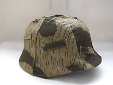 WWII German M35 M40 Helmet Cover Swamp Reversible Marsh Camouflage Cover Cloth