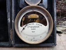 Ancien manometre de précision 80mm