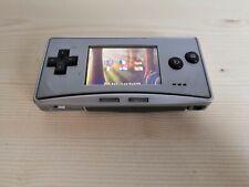 Console Nintendo Game Boy GameBoy Micro Argent Silver Testée + Jeu Rayman Gba